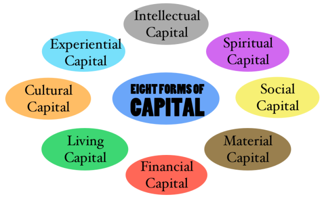 Image result for eight forms of capital